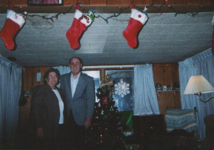 Mom and Dad December 2003